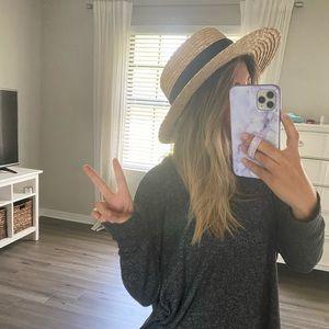 Make your Own Spencer Boater Hat